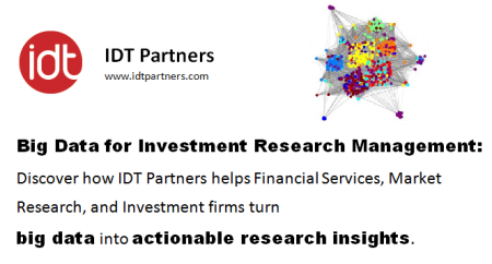 Big Data for Investment Research Management - IDT Partners